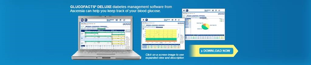 Download Glucofacts Deluxe to keep track of your blood glucose
