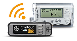 Contour Next Link with Mini Med insulin pump